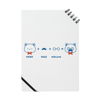 チョッちゃんのネコ+ヒゲ+メガネ Notes