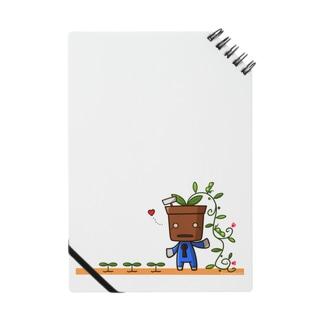 植木デコはちろー ノート