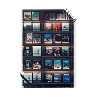 bookshelf. Notes