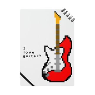 ドットギター(レッド) Notes