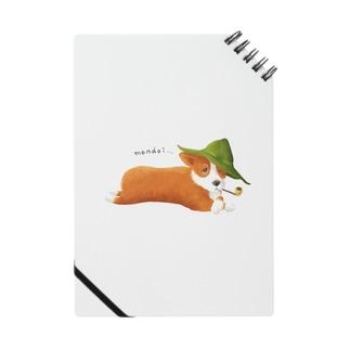 ものぐさコーギー ノート