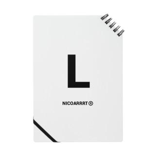 NICOARRRTのイニシャルグッズ Notes