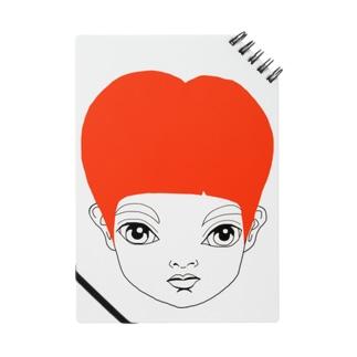 RED HEAD ANGE ノート
