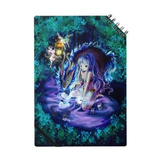 森の中の少女 Notes