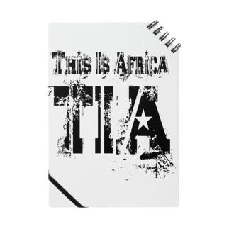 キャプテン☆アフリカのシークレットベース(秘密基地)のTIA (This is Africa) これがアフリカだぁ!! (ブラック)  Notes