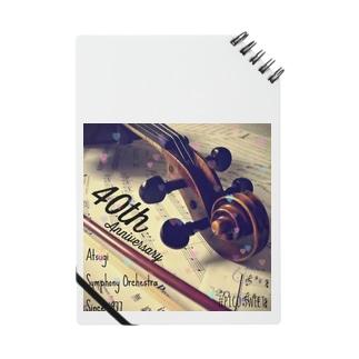 40周年記念グッズヴァイオリンヴァージョン Notes