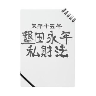 墾田永年私財法 Notes