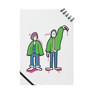 緑のおっきな上着 ノート