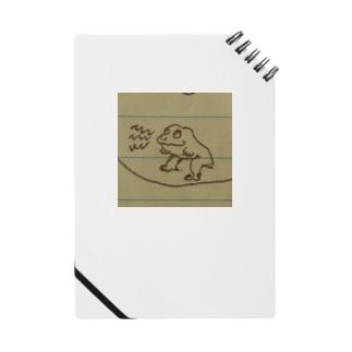 ちょっとイッてるカエル Notes