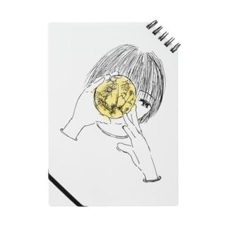 手のひらに月 ノート