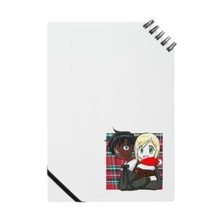 黒白クリスマス ノート