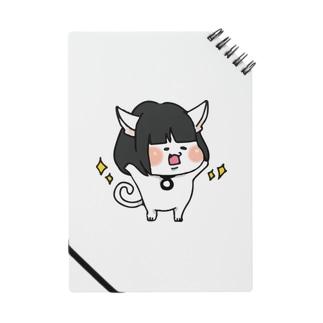 おかっぱ猫ぶんちゃん(白) Notes