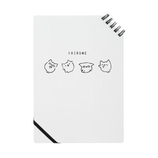 SHIROME(しろめ) Notebook