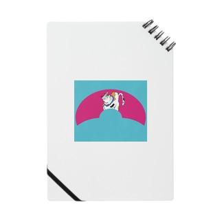 JUNSEN(純仙)扇形の中にいる猫B Notes