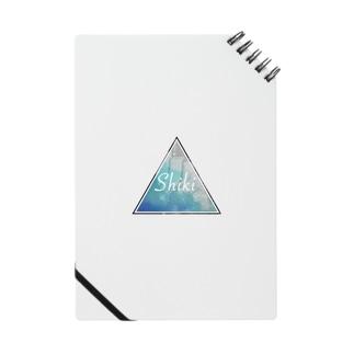 Shiki 電球 トライアングルロゴ Notes