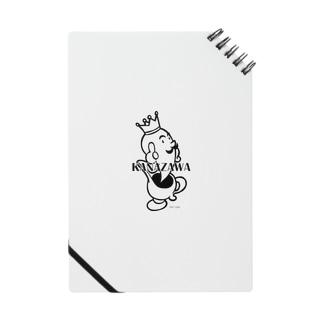 キャラクター(モノクロ) ノート