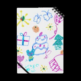 橋本京子のおおきなケーキのおまつりノート