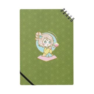 ちどりノート(抹茶) Notes