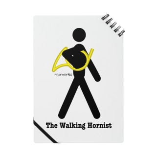 The Walking Hornist w/ Logo Notes