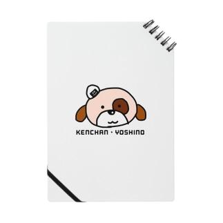イヌの斜め上におにぎり ノート