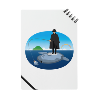 めぐみさらしのマンボウに乗った旅人 ノート