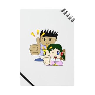 わんぱ君としおりちゃん ノート