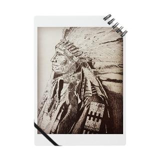 手描きインディアン Notes