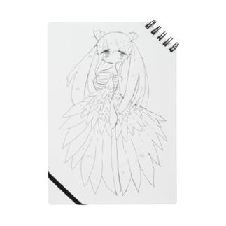 欠損天使ちゃん(黒線画) Notes