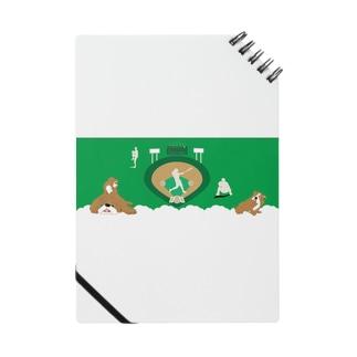 野球と犬のわんわんナンバーワン ノート