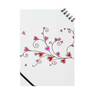 ハート♡唐草 Notes