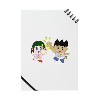 ミニわんぱ君としおりちゃん Notes