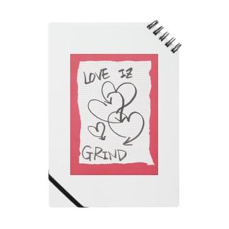 偽諺~壱~「ラヴイズグラインド」(赤縁) Notes