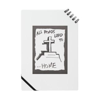 偽諺~弐~「全ての道はホームに通ず」(黒縁) Notes