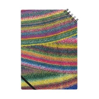 編み地のグッズ ノート