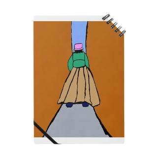 JUNSEN(純仙)路地を歩く女性 Notes