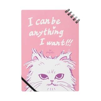 a cat note*I can be anything I want*/『何でもなりたいものになれる』とあるネコノート ノート