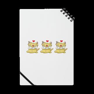 danamonianのトラちゃんトリオ Notes