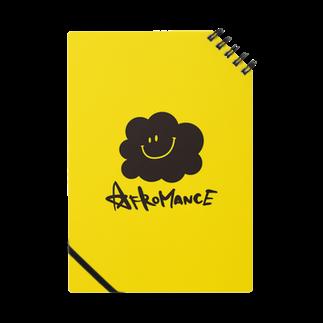 AFROMANCEのアフロマンス・ロゴ(Y)ノート