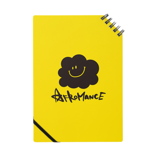 AFROMANCEのアフロマンス・ロゴ(Y) ノート