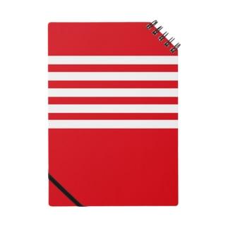 例のボーダー(赤) Notes