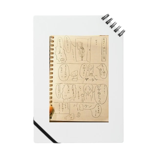 となりの先輩・四コマノート Notes