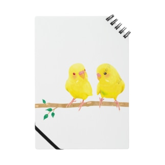 幸せの黄色いセキセイインコ ノート