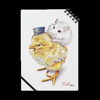ボールペン画と可愛い動物のこっちだよ。 Notes