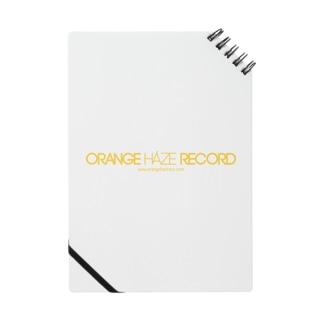 ORANGE HAZE RECORD ノート