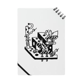 水玉とへび(黒) ノート
