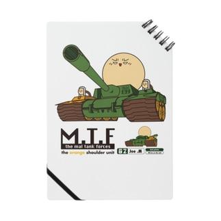 マルタンク(オレンジショルダー):戦車形態 Notes