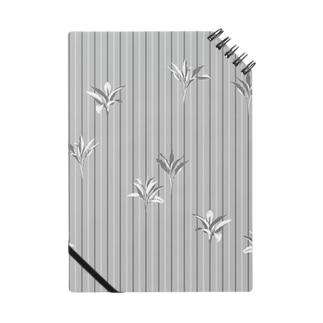 ドラセナの葉っぱ🌿ストライプ ノート