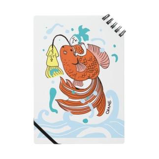 跳ね金魚 Notes