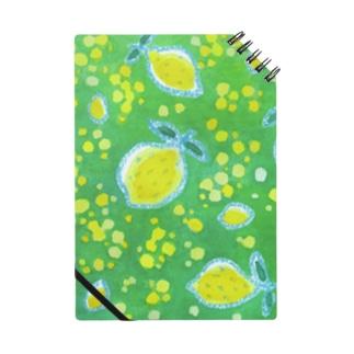 夏にどうぞ 木漏れ日とレモン Notes