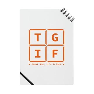 TGIF Basic Logo Memo Pad Notes